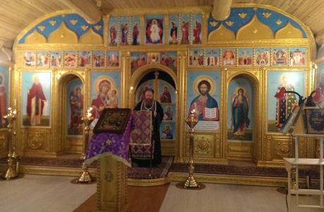 В Храме Св. Князя Александра Невского, Иверского прихода, закончились Библейские чтения Великого Поста!